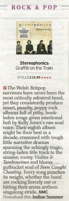 Stereos Album Review Telegraph