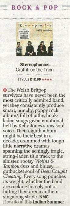 Stereos Album Review Telegraph